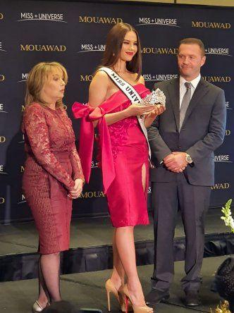 Presentación oficial de la corona de Miss Universo 2019