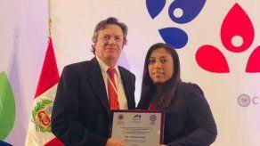 Funcionaria panameña recibe Premio Marítimo de las Américas 2018
