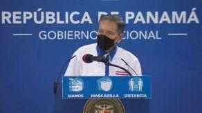 El presidente Laurentino Cortizo anunció cambios en el plan de vacunación en algunas provincias.