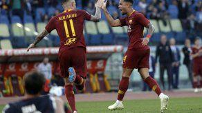 Roma vence a Cagliari