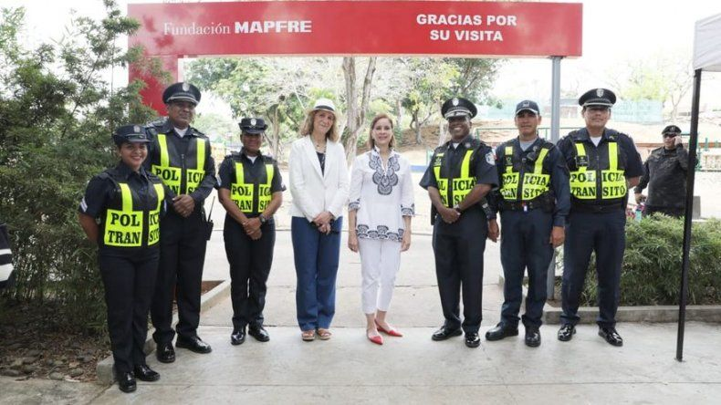 Primera Dama e Infanta Elena visitan 1er Parque Infantil de Educación Vial en Panamá