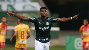 Panameño Newton Williams debuta con hat trick en Palmeiras U20.