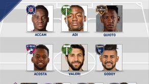Aníbal Godoy en el equipo ideal de la MLS