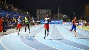 Alonso Edward clasifica a la final con nuevo record en los 200 metros planos