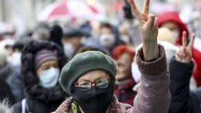 Nueva protesta para exigir renuncia de presidente bielorruso