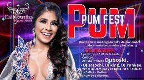 S.R.M. Fianeth Corro los invita al Pum Pum Fest el 3 de noviembre