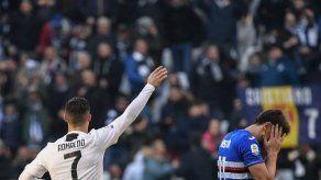 Cristiano Ronaldo pasa a liderar los goleadores de la Serie A