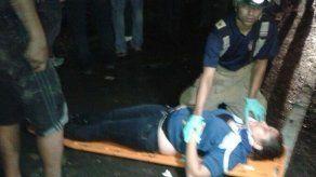 Accidente de bus pirata en Vacamonte deja varios heridos