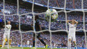 Real Madrid rescata empate 2-2 en casa ante Brujas