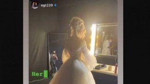 JLo vuelve a vestirse de novia