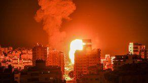 El grado de enfrentamientos fue relativamente menor durante el día, pero las alarmas antiaéreas no dejaron de sonar en localidades de Israel cercanas a Gaza.