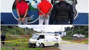 Policía detiene a dos sujetos vinculados en privación de libertad en el Corredor de Los Pobres