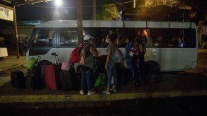 Migración reitera que todo extranjero que organice y participe en caravanas será penalizado