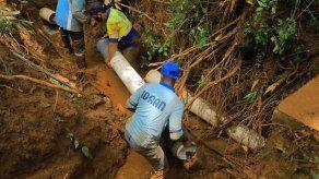 Trabajos en tubería hacia Merca Panamá afectan el suministro de agua en oficinas del Metro y áreas aledañas