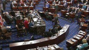 Senadores considerarán testigos en el juicio a Trump