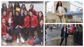 Agustina Ruiz inicia actividades para el Miss World 2019 en Londres