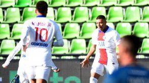 PSG es líder provisional tras dos goles de Mbappé