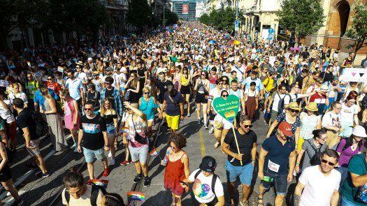 El Parlamento de Budapest aprobó en junio una polémica ley, criticada de ser homófoba, que entre otros prohíbe hablar a los menores sobre la homosexualidad en las escuelas y en los medios.