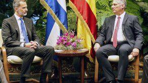 El rey de España se reúne con Díaz-Canel en histórica visita a Cuba
