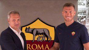 Dzeko renueva su contrato con el Roma hasta 2022