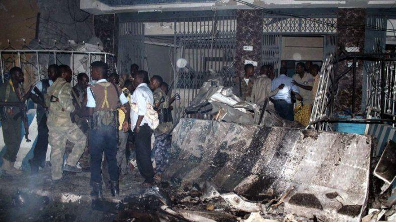 Al menos 7 muertos en un ataque de Al Shabab contra dos hoteles en Mogadiscio