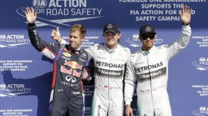 Rosberg logra la pole del GP de Bélgica