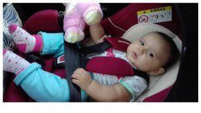 ¿Llevar a tu bebé en su silla dentro del auto? ¿Obligación o no?