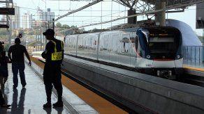 Línea 1 del Metro de Panamá.
