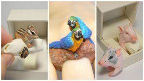 Anillos con forma de animales