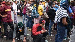 Interceptan en Guatemala a más de 200 migrantes que iban hacia los EE.UU.