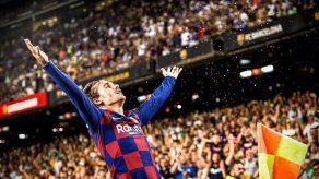 El Barcelona golea 5-2 al Betis con un doblete de Griezmann
