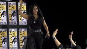 Diversidad en cintas de Marvel incluirá a Salma Hayek