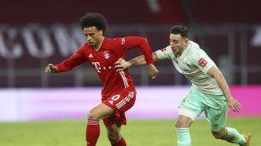 Bayern Múnich se tiene que conformar con empate ante Bremen
