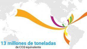 Canal de Panamá contribuyó a la reducción de más 13 millones de toneladas de CO2 en 2020
