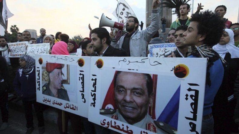 Dos policías heridos y nueve civiles detenidos en manifestaciones en El Cairo