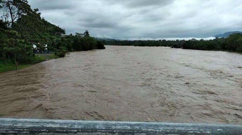 Equipos del Sinaproc evacuaron a residentes de la Comarca Ngäbé Buglé y el distrito de Tierras Altas