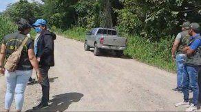 Personal de la Dirección de Investigación Judicial (DIJ) y del Ministerio Público de Chiriquí llegaron al lugar y acordonaron el área.