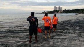 {alttext(,Sinaproc recomienda evitar playas y ríos ante aproximación de la Onda Tropical #44 a Panamá)}