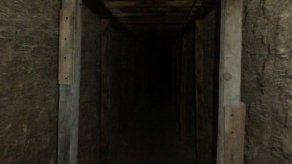 Descubren en México túnel cavado para robar millones de dólares