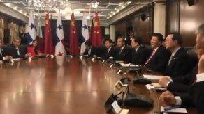 Autoridades de Panamá y China sostienen histórica reunión bilateral