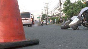 Motorizado murió tras ser atropellado en Villa Lorena