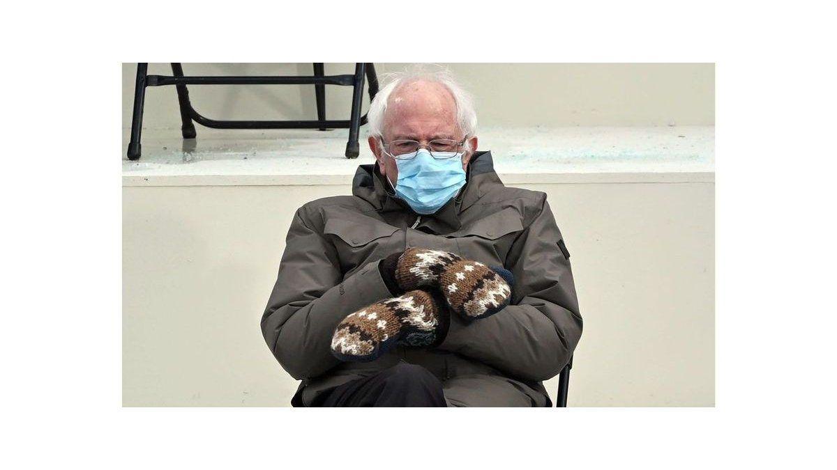Bernie Sanders y el meme del momento