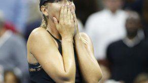 Sharapova supera a Halep en su regreso a los Grand Slams
