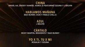 Ganadores de la pregala de los Latin Grammy