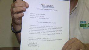 Impugnan postulaciones de Martinelli para diputado y alcalde