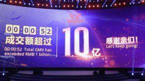 Las ventas por internet se disparan en China el Día de los Solteros