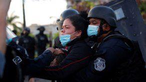 Rector de la UP repudia agresión policial contra estudiante durante protesta