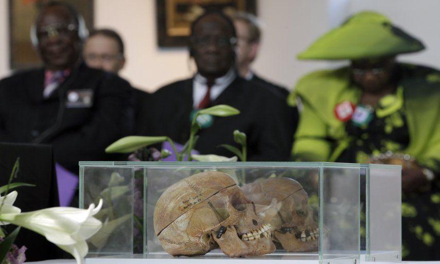 Alemania y Namibia iniciaron las conversaciones en 2015