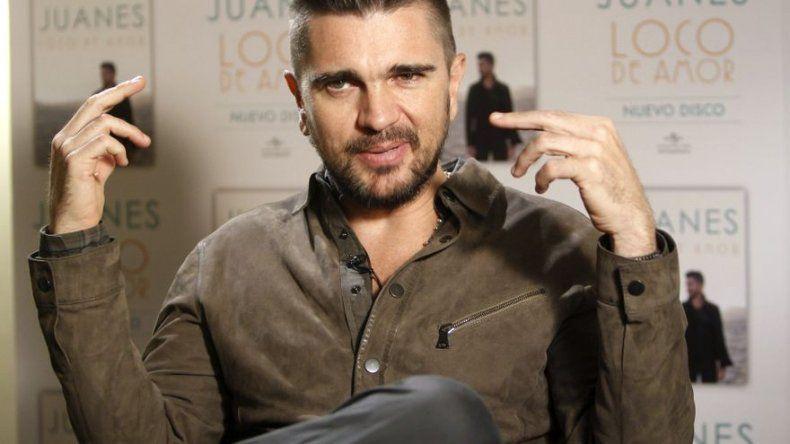 Juanes: El pánico creativo pertenece el pasado