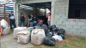 Decomisan en Nuevo Tocumen 35 bultos de mercancía de supuesto contrabando